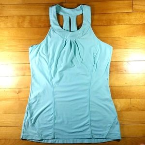 MPG Sport Athletic Tank Top Workout Built In Bra